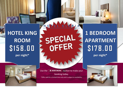 Website Hotel Room Specials